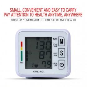 JZIKI Pengukur Tekanan Darah Electronic Sphygmomanometer- KWL-W01 - White - 3