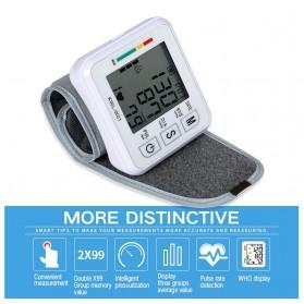 JZIKI Pengukur Tekanan Darah Electronic Sphygmomanometer- KWL-W01 - White - 4
