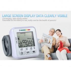 JZIKI Pengukur Tekanan Darah Electronic Sphygmomanometer- KWL-W01 - White - 6