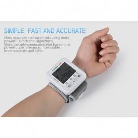 JZIKI Pengukur Tekanan Darah Electronic Sphygmomanometer- KWL-W01 - White - 7