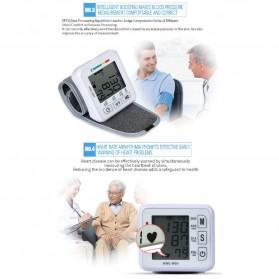 JZIKI Pengukur Tekanan Darah Electronic Sphygmomanometer- KWL-W01 - White - 9