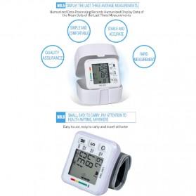 JZIKI Pengukur Tekanan Darah Electronic Sphygmomanometer- KWL-W01 - White - 10