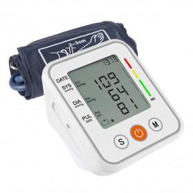 JZIKI Pengukur Tekanan Darah Electronic Sphygmomanometer- KWL-B01 - White