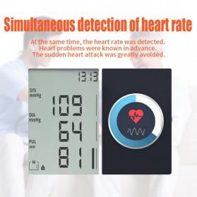 JZIKI Pengukur Tekanan Darah Electronic Sphygmomanometer- KWL-B01 - White - 10