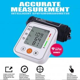 JZIKI Pengukur Tekanan Darah Electronic Sphygmomanometer- KWL-B01 - White - 2