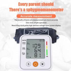 JZIKI Pengukur Tekanan Darah Electronic Sphygmomanometer- KWL-B01 - White - 4