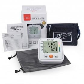 JZIKI Pengukur Tekanan Darah Electronic Sphygmomanometer- KWL-B01 - White - 5