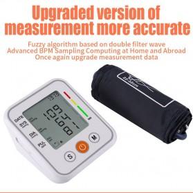 JZIKI Pengukur Tekanan Darah Electronic Sphygmomanometer- KWL-B01 - White - 6