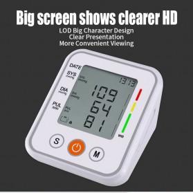 JZIKI Pengukur Tekanan Darah Electronic Sphygmomanometer- KWL-B01 - White - 7