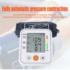 JZIKI Pengukur Tekanan Darah Electronic Sphygmomanometer- KWL-B01 - White - 9