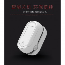 IMDK Alat Pengukur Detak Jantung Kadar Oksigen Fingertip Pulse Oximeter - C101B1 - Black - 3