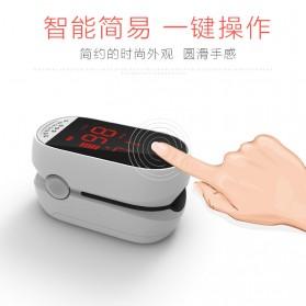 IMDK Alat Pengukur Detak Jantung Kadar Oksigen Fingertip Pulse Oximeter - C101B1 - Black - 8