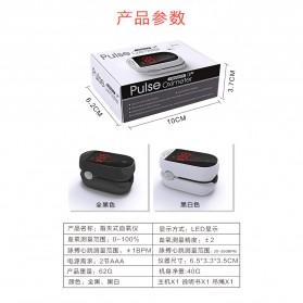 IMDK Alat Pengukur Detak Jantung Kadar Oksigen Fingertip Pulse Oximeter - C101B1 - Black - 9