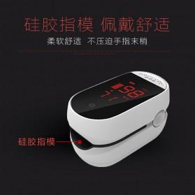IMDK Alat Pengukur Detak Jantung Kadar Oksigen Fingertip Pulse Oximeter - C101B1 - White - 3