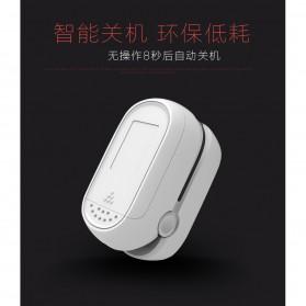 IMDK Alat Pengukur Detak Jantung Kadar Oksigen Fingertip Pulse Oximeter - C101B1 - White - 4