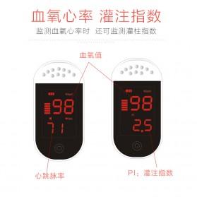 IMDK Alat Pengukur Detak Jantung Kadar Oksigen Fingertip Pulse Oximeter - C101B1 - White - 7