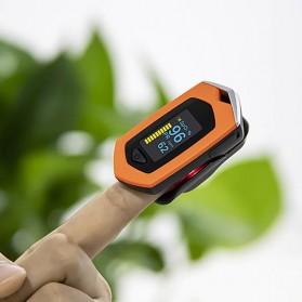 BOXYM Alat Pengukur Detak Jantung Kadar Oksigen Fingertip Pulse Oximeter USB Rechargeable - BX-81 - Black - 4