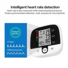 SUOLAER Pengukur Tekanan Darah Electronic Blood Pressure Monitor - CK-A159 - Black - 3