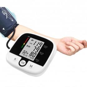 SUOLAER Pengukur Tekanan Darah Electronic Blood Pressure Monitor - CK-A159 - Black - 5