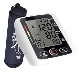 RAINOPO Pengukur Tekanan Darah Tensi Meter Electronic Blood Pressure - X180 - Black - 4