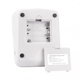 RAINOPO Pengukur Tekanan Darah Tensi Meter Electronic Blood Pressure - X180 - Black - 5