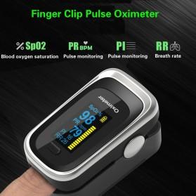 JZIKI Alat Pengukur Detak Jantung Kadar Oksigen Fingertip Pulse Oximeter Sleep Monitor - YSS-G102 - Golden - 3