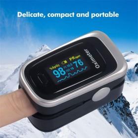 JZIKI Alat Pengukur Detak Jantung Kadar Oksigen Fingertip Pulse Oximeter Sleep Monitor - YSS-G102 - Golden - 6