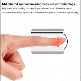 JZIKI Alat Pengukur Detak Jantung Kadar Oksigen Fingertip Pulse Oximeter Sleep Monitor - YSS-G102 - Golden - 8