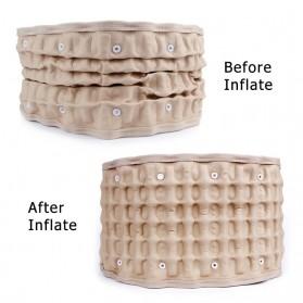 Retemporel Sabuk Terapi Pinggang Lumbar Spinal Support Air Decompression - LSS-16 - Brown - 2