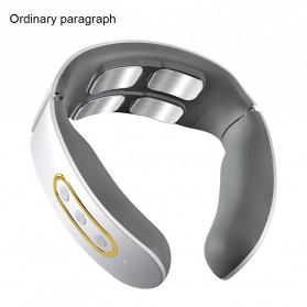 Lemecima Alat Pijat Elektrik Terapi Leher dan Punggung Cervical Vertebra - PG-261 - White