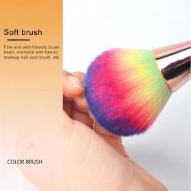 PHOERA Brush Make Up Blush On Foundation - PH10 - Rose Gold - 4