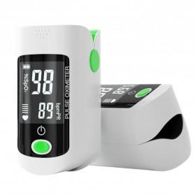 ACEHE Fingertip Pulse Oximeter Alat Pengukur Detak Jantung Kadar Oksigen - CK-X1805 - Black - 3