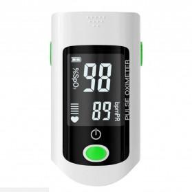 ACEHE Fingertip Pulse Oximeter Alat Pengukur Detak Jantung Kadar Oksigen - CK-X1805 - Black - 4