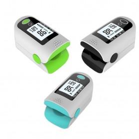 ACEHE Fingertip Pulse Oximeter Alat Pengukur Detak Jantung Kadar Oksigen - CK-X1805 - Black - 5