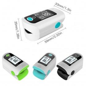 ACEHE Fingertip Pulse Oximeter Alat Pengukur Detak Jantung Kadar Oksigen - CK-X1805 - Black - 10