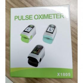 ACEHE Fingertip Pulse Oximeter Alat Pengukur Detak Jantung Kadar Oksigen - CK-X1805 - Black - 11