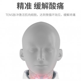 SUOLAER Alat Pijat Elektrik Terapi Leher Punggung Rechargeable JT-008 - White - 4
