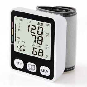 JZIKI Pengukur Tekanan Darah Electronic Sphygmomanometer - KWL-W02 - Black