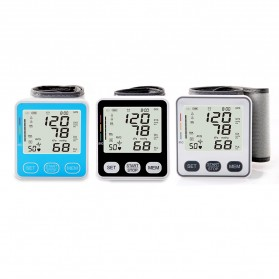 JZIKI Pengukur Tekanan Darah Electronic Sphygmomanometer - KWL-W02 - Black - 6