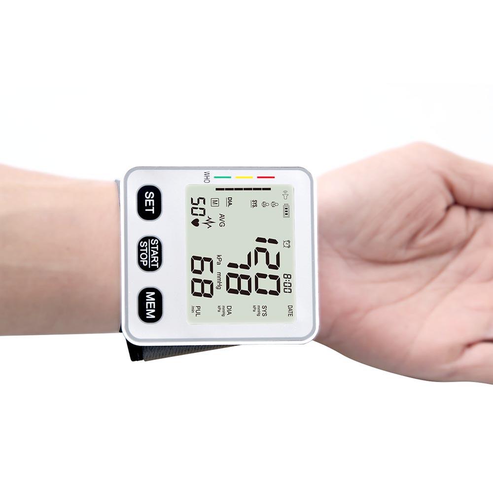 JZIKI Pengukur Tekanan Darah Electronic Sphygmomanometer - KWL-W02 - Black - 4