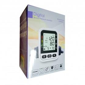 OLOEY Pengukur Tekanan Darah Blood Pressure Monitor with Voice - ARM-1 - Black - 9