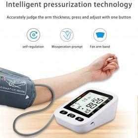 OLOEY Pengukur Tekanan Darah Blood Pressure Monitor Silent - ARM-2 - Black - 1