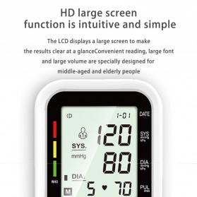 OLOEY Pengukur Tekanan Darah Blood Pressure Monitor Silent - ARM-2 - Black - 3