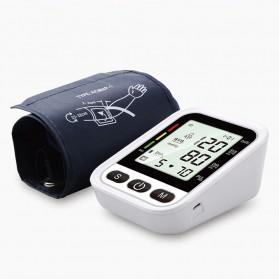 OLOEY Pengukur Tekanan Darah Blood Pressure Monitor Silent - ARM-2 - Black - 4