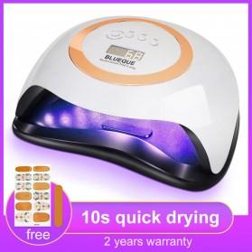 BLUEQUE Pengering Kutek Kuku UV LED Nail Dryer 42 LED 168W - V1 - White