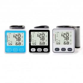 JZIKI Pengukur Tekanan Darah Electronic Sphygmomanometer with Voice - KWL-W02 - Black - 6