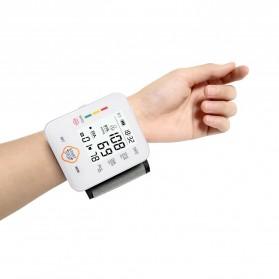 JZIKI Pengukur Tekanan Darah Electronic Sphygmomanometer with Voice - KWL-W03 - Black - 2