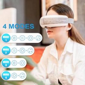 KLASVSA Alat Kompres Pijat Refleksi Mata Electric Smart Eye Massager Bluetooth Version - SX323 - Gray - 4
