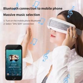 KLASVSA Alat Kompres Pijat Refleksi Mata Electric Smart Eye Massager Bluetooth Version - SX323 - Gray - 5