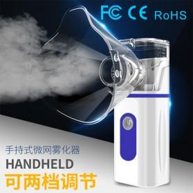 MEETFATE Alat Terapi Pernafasan Asthma Inhale Nebulizer Ultrasonic - MF05 - White/Blue